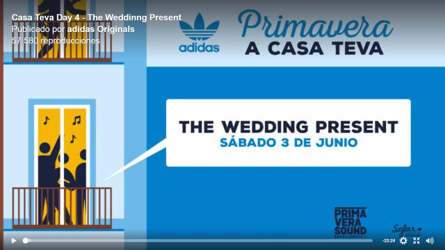 Primavera Sound a casa teva, amb Adidas Originals, The Wedding Present