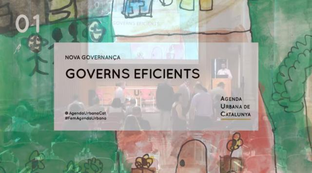 Agenda Urbana de Catalunya - Governs eficients