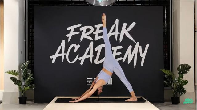Freak Academy - Online Yoga Session 1 - General Power Vinyasa Yoga con Joana Masó